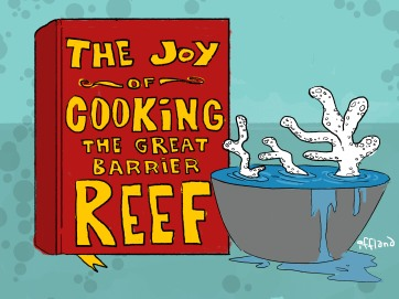 goat cartoon reef